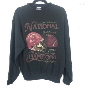 VINTAGE Nebraska Huskers 1994 national champs J11